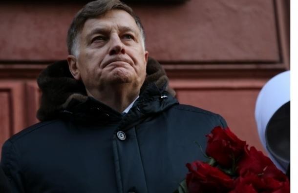 Военком встретил корреспондента MR7 у парламента Петербурга