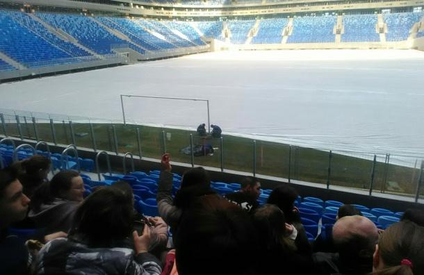 Комиссия РФС нашла серьезные недоработки на новом стадионе на Крестовском