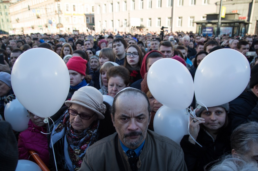 Полтавченко: террористы несмогли посеять страх вПетербурге