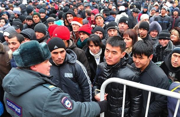 Почти 10 млн иностранцев находятся сейчас в России