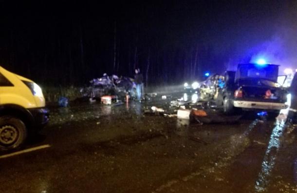 Серьезное ДТП случилось ночью наПетрозаводском шоссе