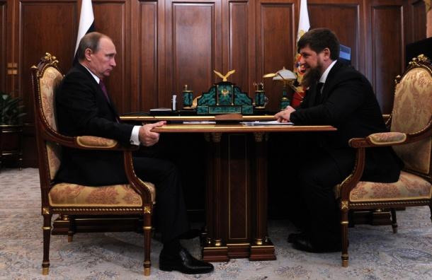 Кадыров пожаловался Путину из-за публикаций оЧечне вСМИ