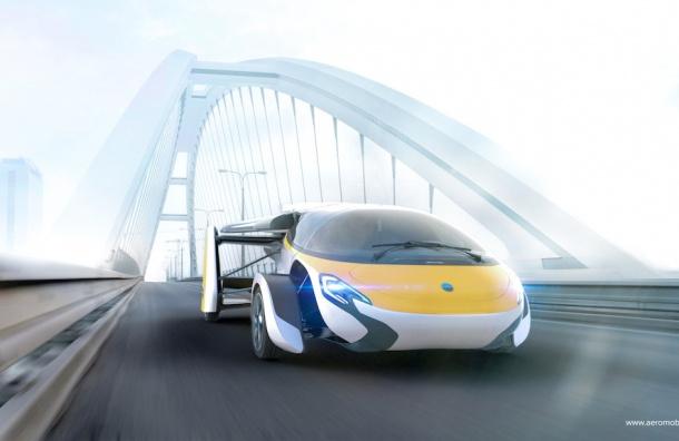 Первый летающий автомобиль будет выпущен в 2017 году