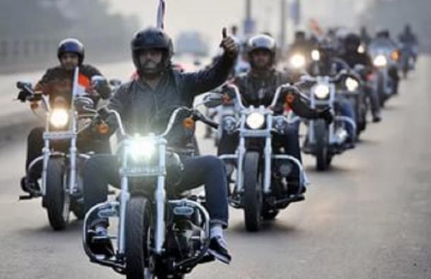 Мотоциклисты могут получить преимущества на дорогах