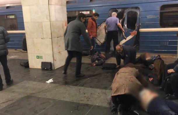 Все станции метро Петербурга закрыты на вход и выход
