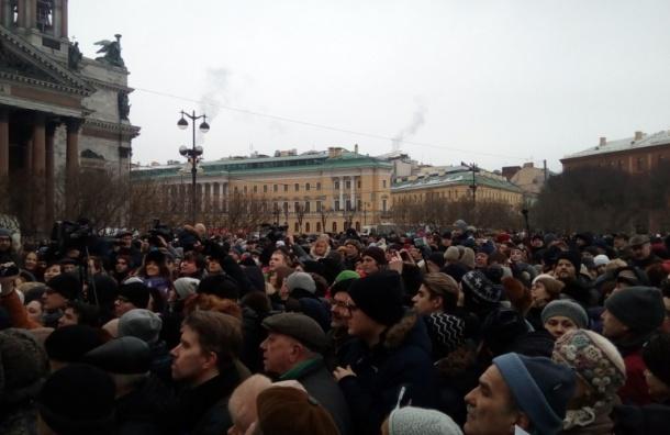 Оппозиция подала заявку на единую колонну первого мая