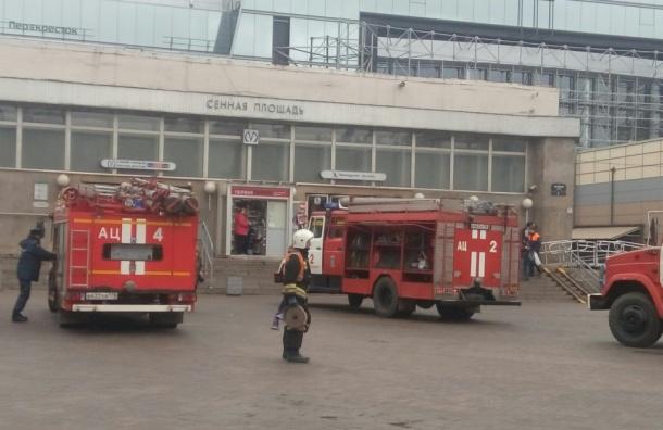 Петербургское метро после проверки работает в обычном режиме