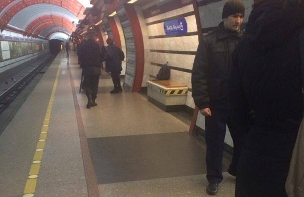 Станцию «Обводный канал» закрыли для пассажиров