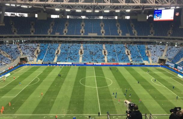 «Зенит»: первую игру на «Санкт-Петербург - Арене» смотрит 20 004 болельщика