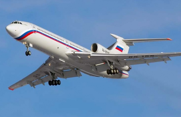 СМИ: летевший вСирию Ту-154 упал из-за перегруза