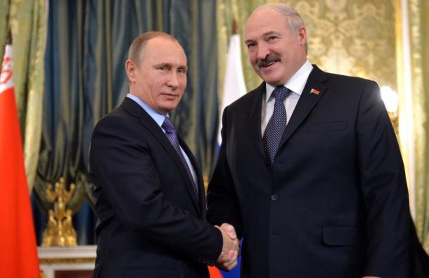 Путин встретится сЛукашенко вПетербурге