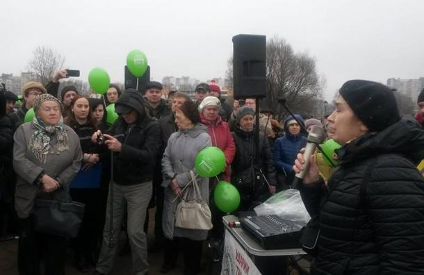 Недовольные петербуржцы вышли против строительства ВСД