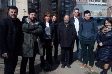 Журналист Кагермазов прибыл в военкомат