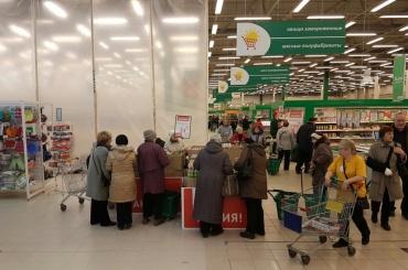 Очевидцы: покупатель умер вгипермаркете наФучика