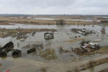 Поселок Ленсоветовский уходит под воду