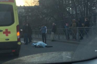 Человека сбили насмерть на Благодатной улице