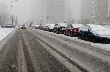 Петербург ждет завтра туман и мокрый снег с дождем