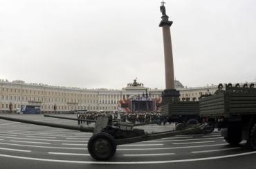 Репетиция парада Победы соберет пробку в центре Петербурга