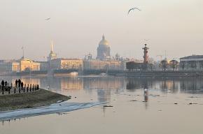 Весна в Петербург придет в среду