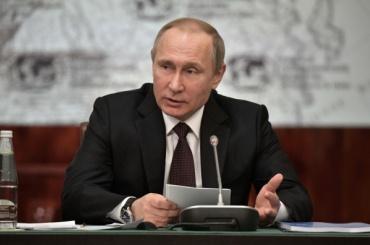 Путин пошутил про подаренные ему соленые огурцы