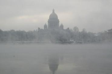 Петербург 22 апреля ждет туман, снег и гололедица