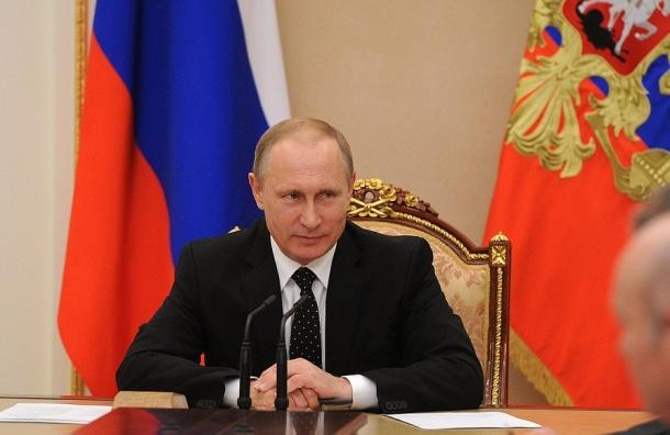 Путин в Петербурге обсудит с Матвиенко и Володиным коррупцию