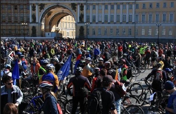 Велосезон откроется стихийно