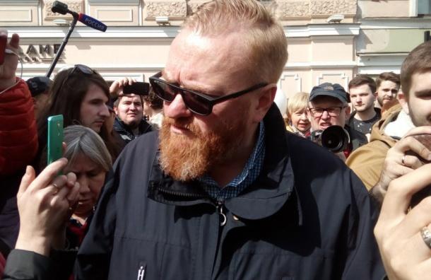 Милонов устроил потасовку сгей-активистами в северной столице