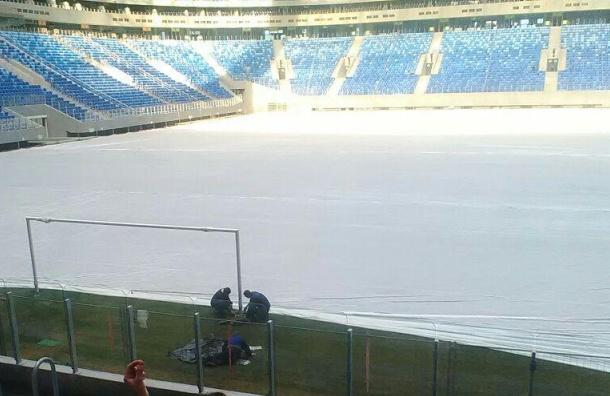 Глава «Газпрома» раскритиковал поле стадиона наКрестовском