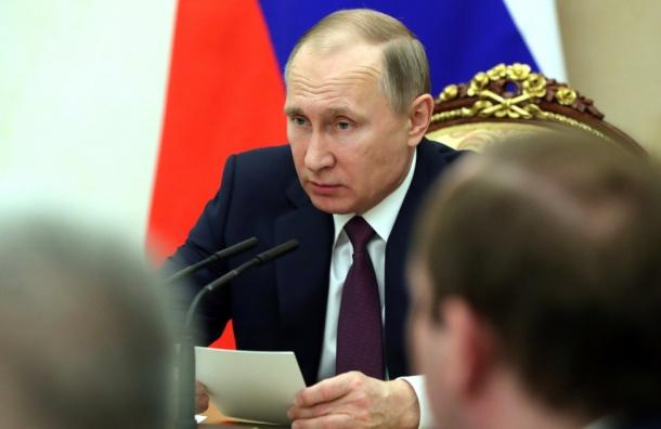 Путин считает «политической шизофренией» обвинения вадрес Трампа