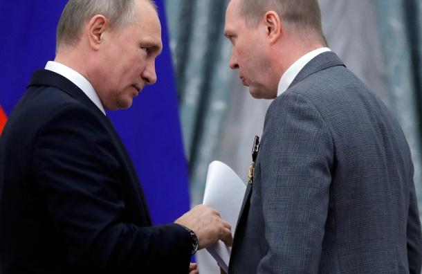 Актер Миронов передал Путину письмо в защиту Серебренникова