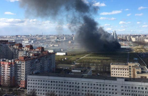 Серьезный пожар на Юрия Гагарина тушат по повышенному номеру