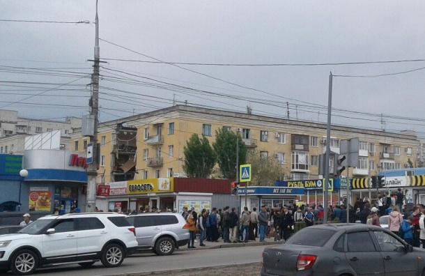 Три человека задержаны поделу овзрыве дома вВолгограде