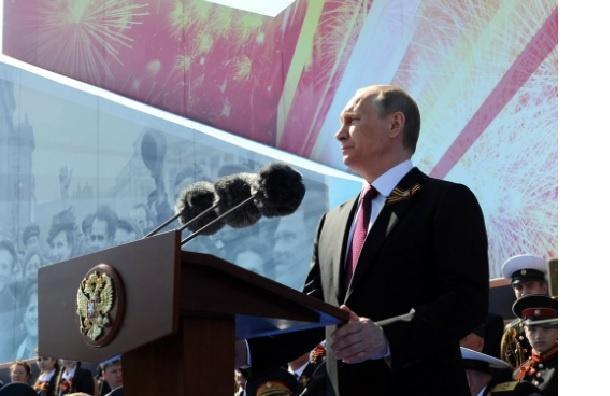 Путин не упомянул союзников в парадной речи 9 мая
