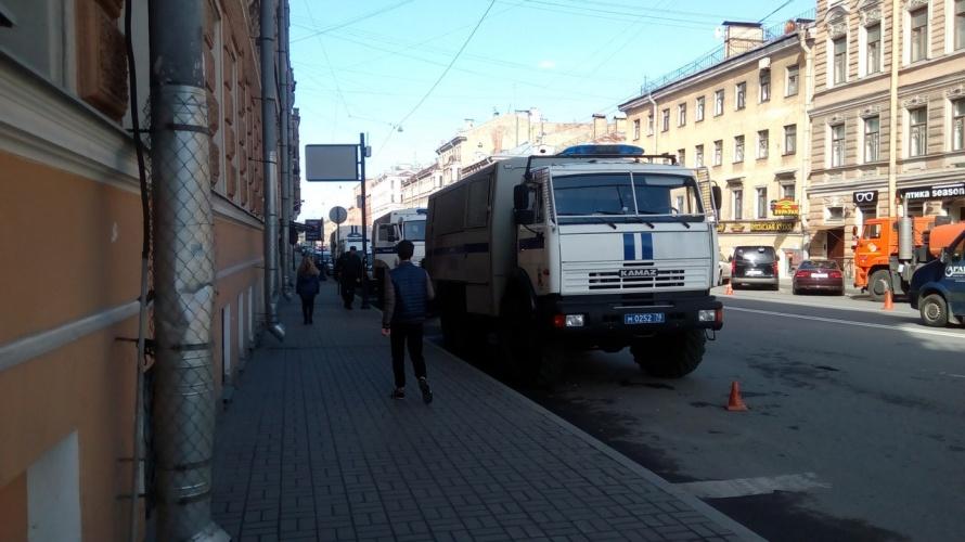Натерритории Петербурга стартовало первомайское шествие