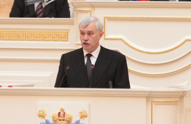 Полтавченко назначил Константина Серова вице-губернатором Петербурга