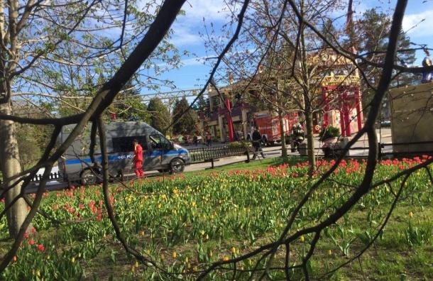 Силовики Петербурга провели антитеррористические учения в Приморском парке Победы