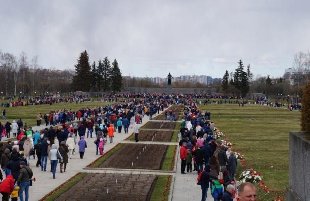 Высотки изуродовали панораму Пискаревского кладбища