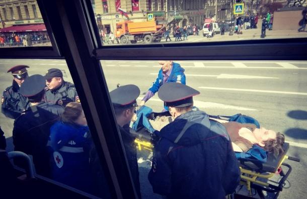 Задержаны участники акции в Петербурге против преследования геев в Чечне