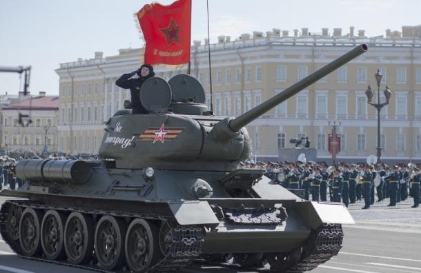 Центр Петербурга закроют для движения из-за репетиции парада Победы