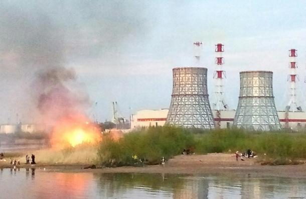 Любители шашлыков спровоцировали пожар на Маршала Казакова рядом с ТЭЦ