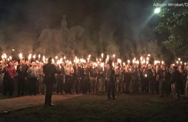 Американские расисты скандировали на акции протеста: «Россия – наш друг»