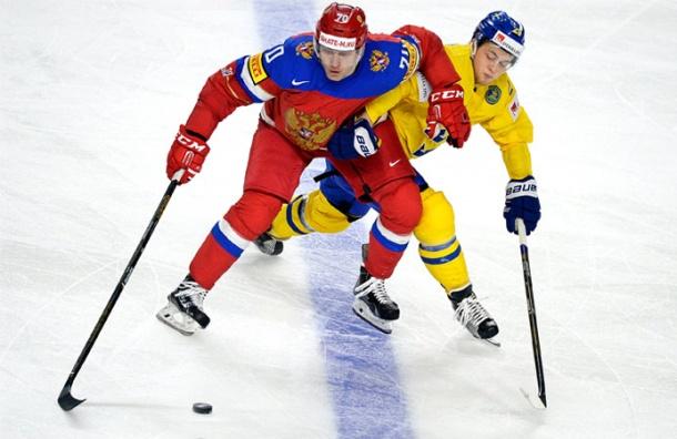 Сборная России выиграла у шведов в первом матче чемпионата мира по хоккею