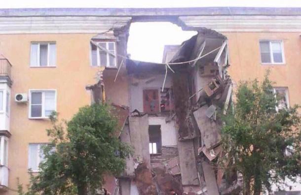 Жилой дом взорвался в Волгограде, есть жертвы