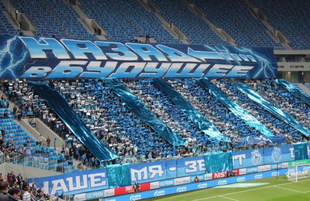 Болельщики выкупили все билеты на матч «Зенит» - «Терек» в Петербурге