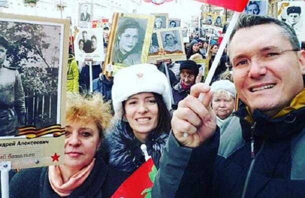 «Бессмертный полк» начал шествие по Невскому проспекту