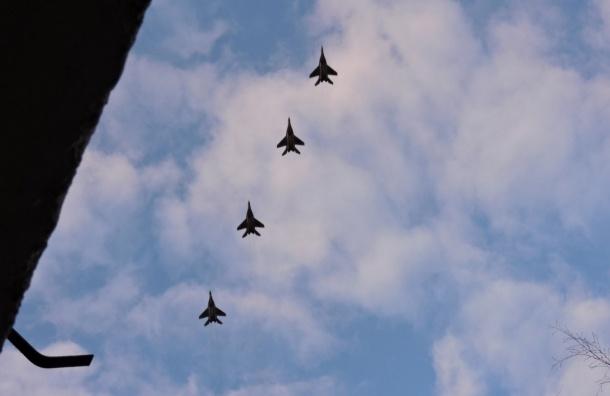 ВПетербурге прошла первая репетиция воздушного Парада