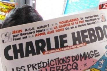 Карикатуру напреследование геев вЧечне опубликовал Charlie Hebdo