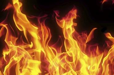 Пожары полыхали вКрасногвардейском районе