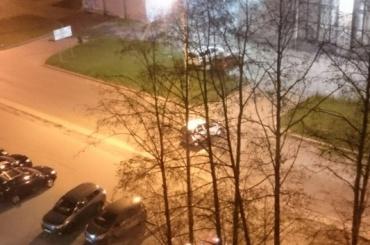 Машина без водителя ездила на улице Обручевых